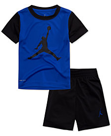 Jordan 2-Pc. Jumpman T-Shirt & Shorts Set, Little Boys