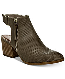 Baretraps Noelani Perforated Ankle Booties