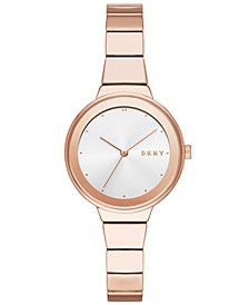Women's Astoria Rose Gold-Tone Bracelet Watch 32mm, Created for Macy's