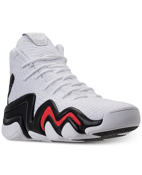 best website 14605 b485c ... adidas Mens Crazy 8 ADV Circular Knit Basketball Sneakers from Finish  ...