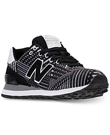 New Balance Women's 574 Beaded Casual Sneakers from Finish Line