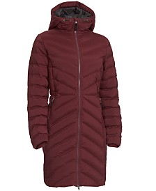 EMS® Women's Cascade Stretch Full-Zip Hooded Down Jacket