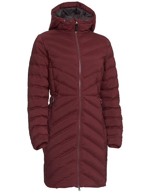 EMS® Women's Cascade Stretch Full-Zip Hooded Down Jacket