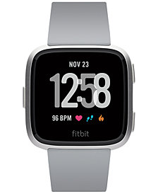 Fitbit Versa™ Gray Touchscreen Smart Watch 39mm