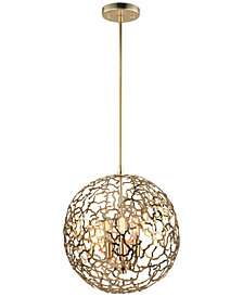 Zeev Lighting Helios 3-Light Pendant