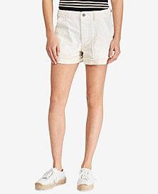 Polo Ralph Lauren Patchwork Cotton Shorts