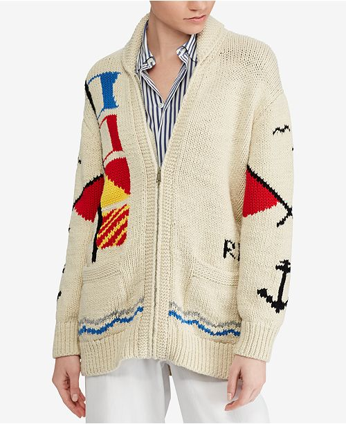 Boyfriend Ralph Lauren Cotton Sweaters Polo Cardiganamp; Reviews CxdBoe