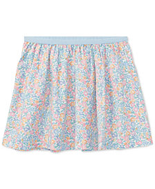 Polo Ralph Lauren Floral-Print Cotton Skirt, Toddler Girls