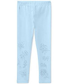 Polo Ralph Lauren Embroidered Leggings, Toddler Girls