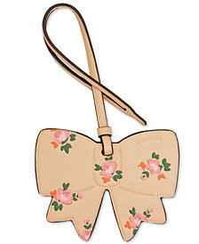 COACH Boxed Printed Bow Ornament
