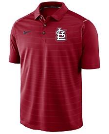 Nike Men's St. Louis Cardinals Stripe Polo