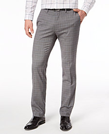 Kenneth Cole Reaction Men's Slim-Fit Stretch Dress Pants