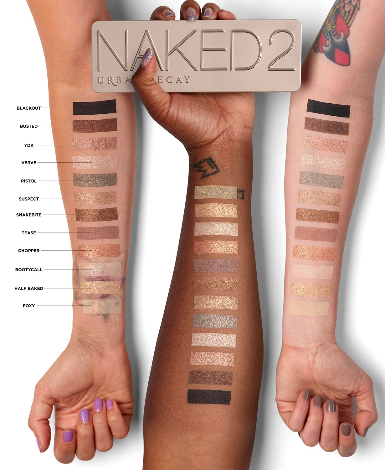 $27 (Was $54)50% Off Urban Decay Naked2 Eyeshadow Palette @ Macy s
