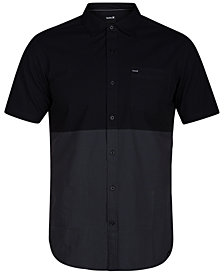 Hurley Men's Two Face Colorblock Woven Shirt