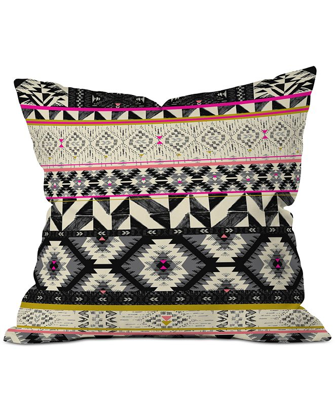 Deny Designs Pattern State Alpine Throw Pillow