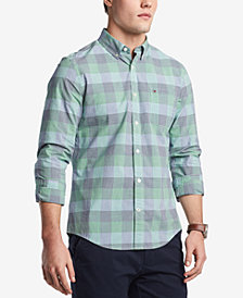 Tommy Hilfiger Men's Victor Plaid Shirt, Created for Macy's
