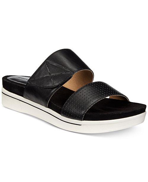 d4623732a95 Adrienne Vittadini Calais Flat Sandals   Reviews - Sandals   Flip ...