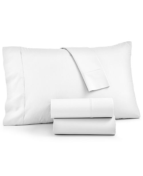 York 4 Pc Sheet Sets 600 Thread Count Cotton Blend