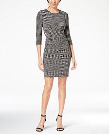 Anne Klein Dot-Print Dress