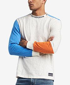 Tommy Hilfiger Denim Men's Sebastian Colorblocked Long Sleeve T-Shirt, Created for Macy's