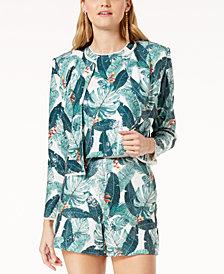 Rachel Zoe Alissa Printed Jacket