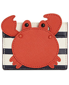kate spade new york Crab Applique Card Holder