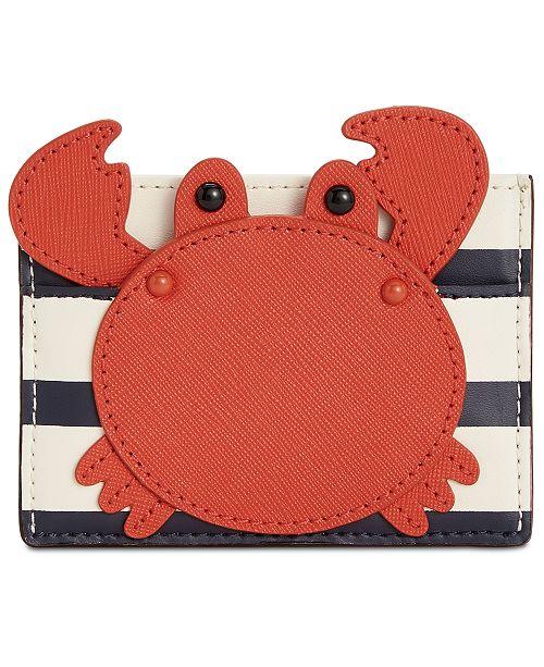 bca66667b9e kate spade new york Crab Applique Card Holder   Reviews ...