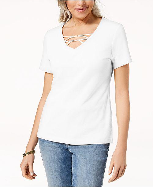 for Embellished Karen Macy's Bright Shirt Created Scott T White ZRXXxqwUT