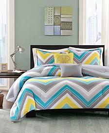 Elise 5-Pc. Full/Queen Comforter Set