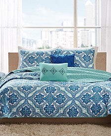 CLOSEOUT! Lionna 4-Pc. Twin/Twin XL Coverlet Set