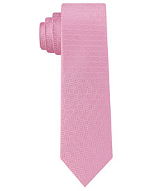 DKNY Men's Kelly Neat Slim Silk Tie