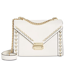 MICHAEL Michael Kors Whitney Studded Frame Shoulder Bag
