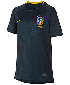 Nike Dry Brazil Squad World Cup Printed T-Shirt, Big Boys