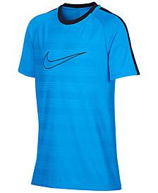 Nike Dry Academy Logo-Print T-Shirt, Big Boys