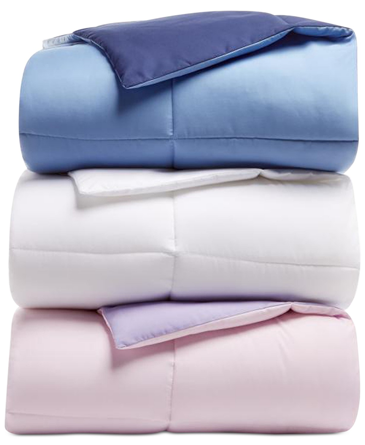 Martha Stewart Essentials Reversible Down Twin Comforter
