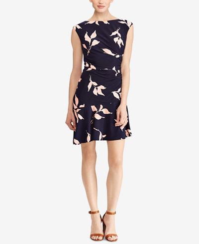 American Living Printed Jersey Dress