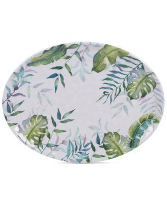Tropicana Melamine Oval Platter