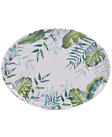 Certified International Tropicana Melamine Oval Platter