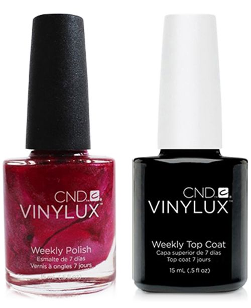 Cnd Creative Nail Design Vinylux Sultry Sunset Nail Polish Top
