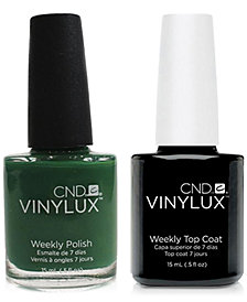 Creative Nail Design Vinylux Palm Deco Nail Polish & Top Coat (Two Items), 0.5-oz., from PUREBEAUTY Salon & Spa