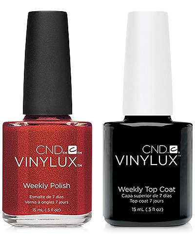 Creative Nail Design Vinylux Hand Fired Nail Polish & Top Coat (Two Items), 0.5-oz., from PUREBEAUTY Salon & Spa