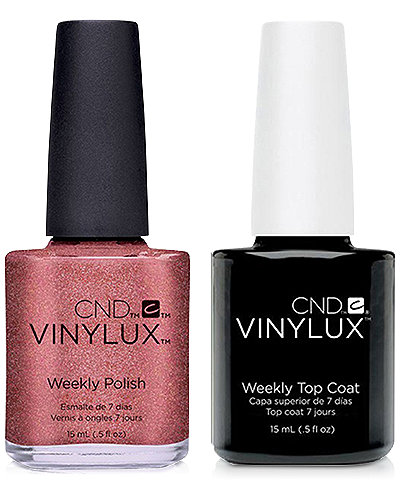 Creative Nail Design Vinylux Untitled Bronze Nail Polish & Top Coat (Two Items), 0.5-oz., from PUREBEAUTY Salon & Spa