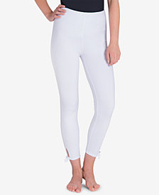 Lysse Women's  Side-Tie Cropped Leggings