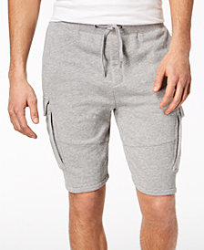 American Rag Men's Heathered Cargo Knit Shorts, Created for Macy's