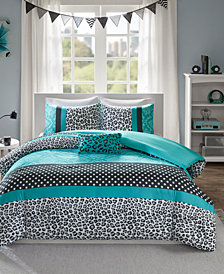 Mi Zone Chloe 4-Pc. King/California King Duvet Cover Set