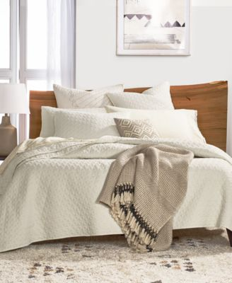 Vintage Wash Twin Coverlet, Created for Macy's