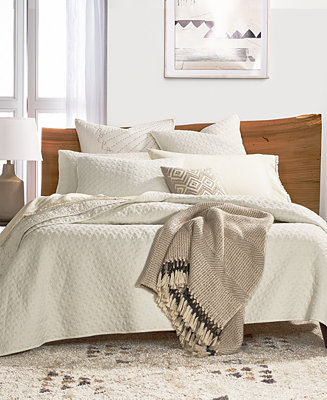 Lucky Brand Vintage Wash Coverlet Collection Quilts