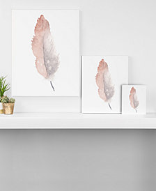 Deny Designs Wonder Forest Freedom Feather Canvas Collection