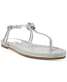 Lauren Ralph Lauren Makayla Flat Espadrille Thong Sandals