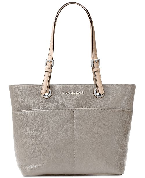 19e88f3a21e50f Michael Kors Jet Set Soft Leather Top Zip Tote & Reviews - Handbags ...